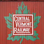 Central Vermont Railway Poster