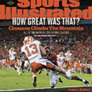Champs How Great Was That Clemson Climbs The Mountain Sports Illustrated Cover Poster