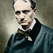Charles Baudelaire, French Writer, Photo Poster