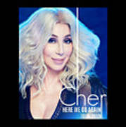 Cher Here We Go Again 2019 Poster