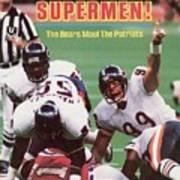 Chicago Bears Dan Hampton, Super Bowl Xx Sports Illustrated Cover Poster