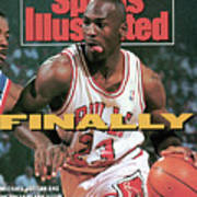 Chicago Bulls Michael Jordan, 1991 Nba Eastern Conference Sports Illustrated Cover Poster