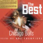 Chicago Bulls Michael Jordan, 1996 Nba Finals Sports Illustrated Cover Poster