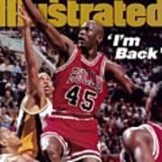Chicago Bulls Michael Jordan... Sports Illustrated Cover Poster