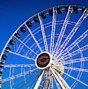 Chicago Centennial Ferris Wheel Poster