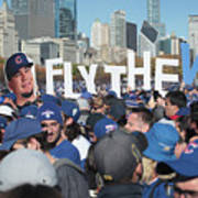 Chicago Cubs Victory Celebration Poster