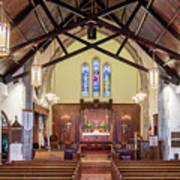 Christ Episcopal Interior Poster