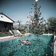 Christmas Swim Poster