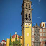 Church Of San Francisco In Puebla Poster
