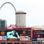 Cincinnati Reds V St. Louis Cardinals Poster
