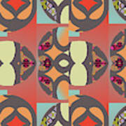 Claire Pattern Poster