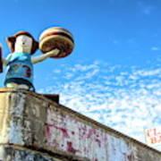 Clam Bar Theme Park Coney Island  Poster