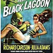 Classic Movie Poster - Creature From The Black Lagoon Poster