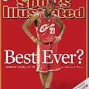 Cleveland Cavaliers LeBron James... Sports Illustrated Cover Poster