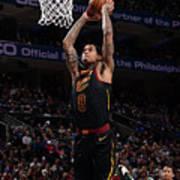 Cleveland Cavaliers V Philadelphia 76ers Poster