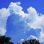 Clouds one Poster
