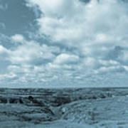 Cloudy Prairie Reverie Poster