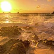 Coastal Sunrise Spectacular  Poster