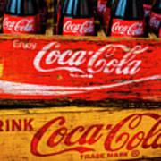 Coca Cola Crates Poster
