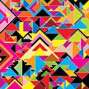 Color Abstract Poster