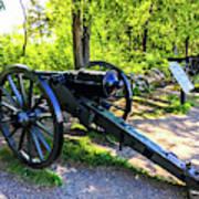 Confederate 20 Pound Parrott Rifles Poster