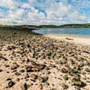 Coral Beach, Skye Poster