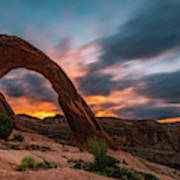 Corona Arch At Sunrise Poster