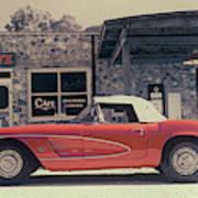 Corvette Cafe - C1 - Vintage Film Poster