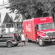 Costa Rica Soda Truck Poster
