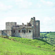 Crighton Castle In Summer Poster