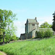 Crighton Church And Track Poster