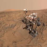 Curiosity Selfie Poster