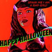 Custom Halloween Card She-devil Poster