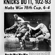Daily News Back Page May 11, 1973 Poster
