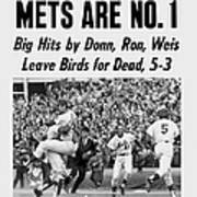 Daily News Front Page October 17, 1969 Poster