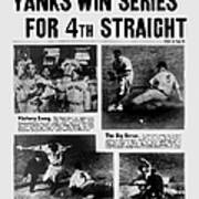 Daily News Front Page October 9, 1939 Poster