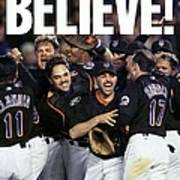 Daily News Front Page Of Wrap, Believe Poster