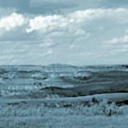 Dakota Grassland Shadows Poster