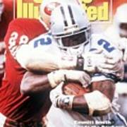 Dallas Cowboys Emmitt Smith, 1993 Nfc Championship Sports Illustrated Cover Poster