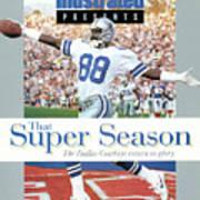 Dallas Cowboys Michael Irvin, Super Bowl Xxvii Sports Illustrated Cover Poster
