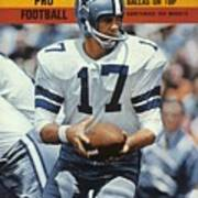 Dallas Cowboys Qb Don Meredith... Sports Illustrated Cover Poster