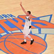 Dallas Mavericks V New York Knicks Poster