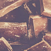 Dark Chocolate Delight Poster