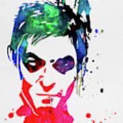 Daryl Watercolor II Poster