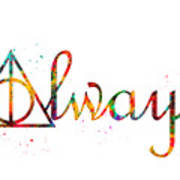 Deathly Hallows Always Poster