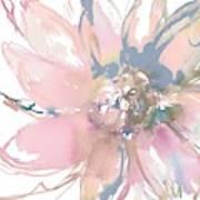Delicate Flower Burst    Poster