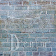 Denim- Sexy Blue Jeans Poster