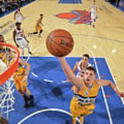 Denver Nuggets V New York Knicks Poster