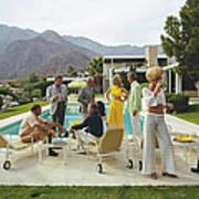 Desert House Party Poster