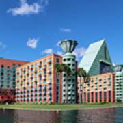 Disney Dolphin Hotel Poster